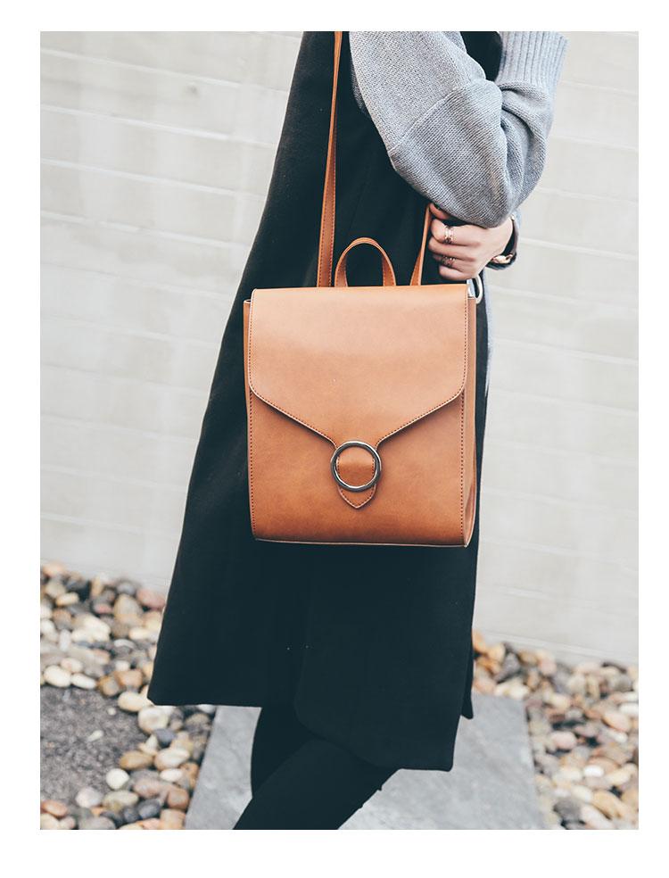 Retro Women's Rucksack Bag 24