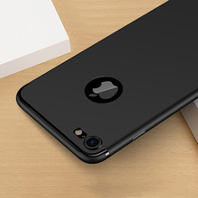 0.3mm Ultra thin Matte Scrub Case Cover For coque iPhone 7 Plus 6 6S Plus 5 5S SE Soft TPU Silicone Phone Covers shockproof Skin