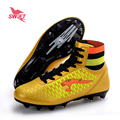 Professional High Ankle Kids FG Soccer Shoes New Children Football Boots Cheap Boys Futsal Cleats Top Original Football Sneakers