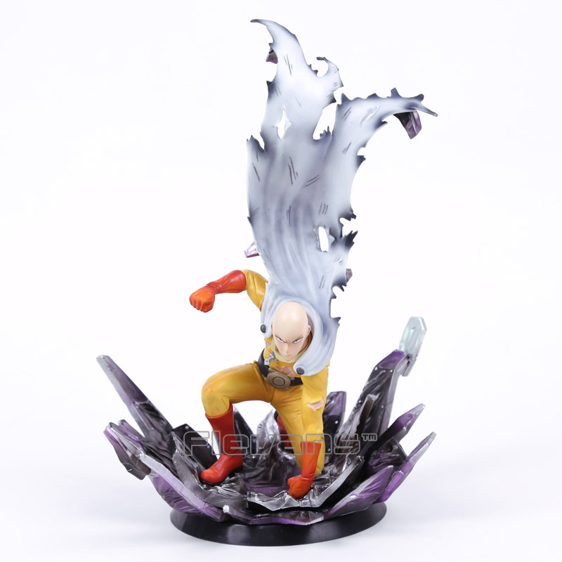 Anime ONE PUNCH MAN Saitama Resin Figure Collectible Model Toy 24 5cm