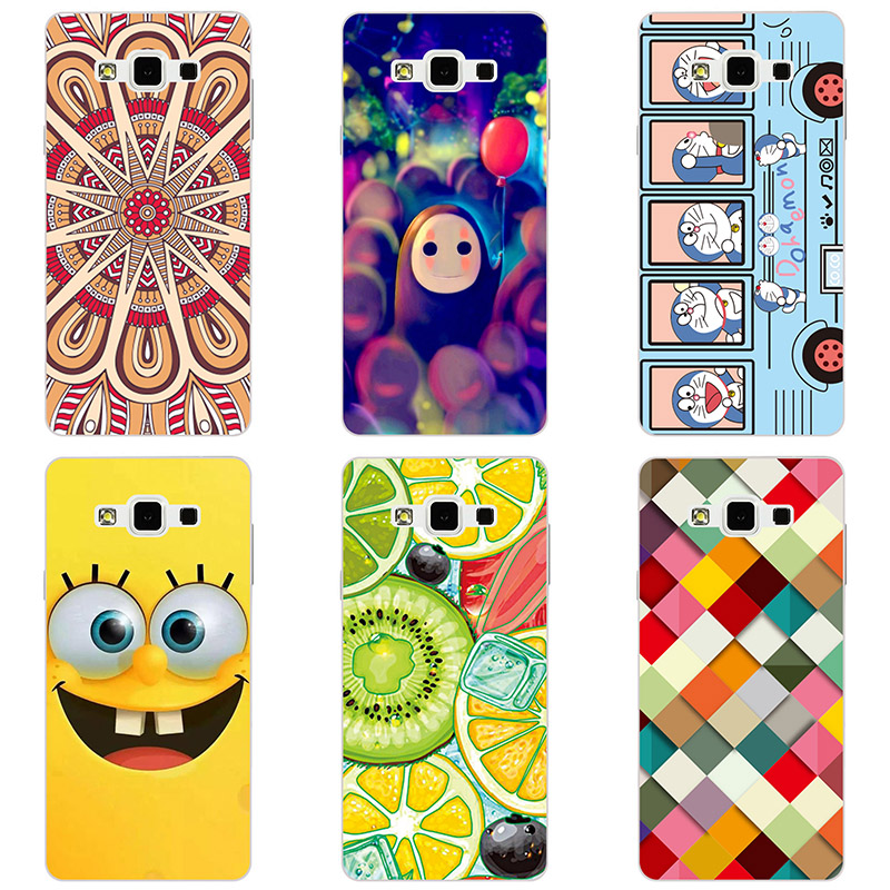 For <font><b>Samsung</b></font> Galaxy A8 <font><b>A8000</b></font> hard Plastic Case Cover phone shell printing Case For <font><b>Samsung</b></font> Galaxy A8 Painted Flower hard Cases image