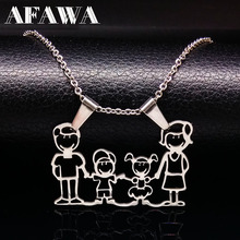 Fashion Titanium Stainless Steel Necklaces Jewelry Cute Boys and girls Silver Love Pendants Women accessories N166264