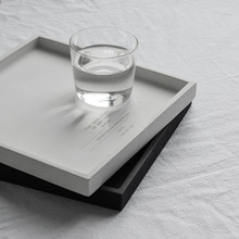 Square Shape Concrete Tray Pallet Silicone Mold Candlestick Clay Crafts Mould