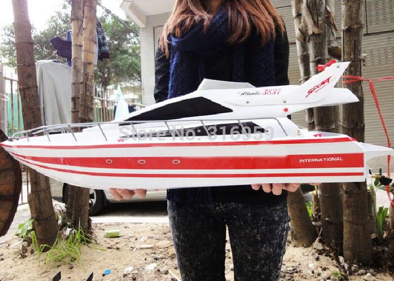 Grande RC Atlantic Yacht Lancha barco de corrida de alta velocidade do navio de Cruzeiros de Luxo Brinquedos Eletrônicos Para Crianças Presentes
