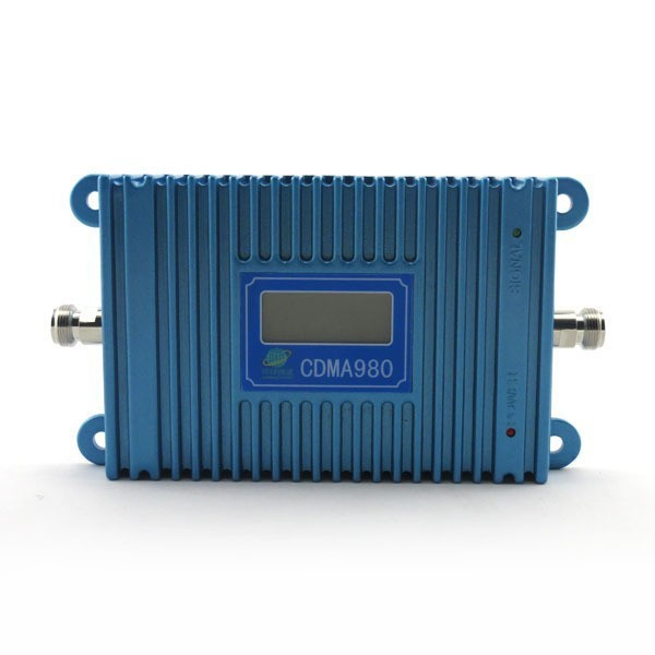 CDMA980 LCD Display !850mhz Cell Phone Signal CDMA Repeater, MOBILE CDMA Signal Booster Amplifier With Power Adapter