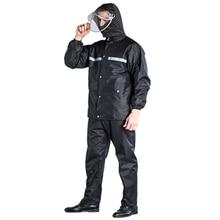 Outdoor Motorcycle Raincoat Poncho Waterproof Cover Rain Coat Men Suit Cape Gear Abrigo Hombre Impermeable Rain Wear  50KO146 цена 2017