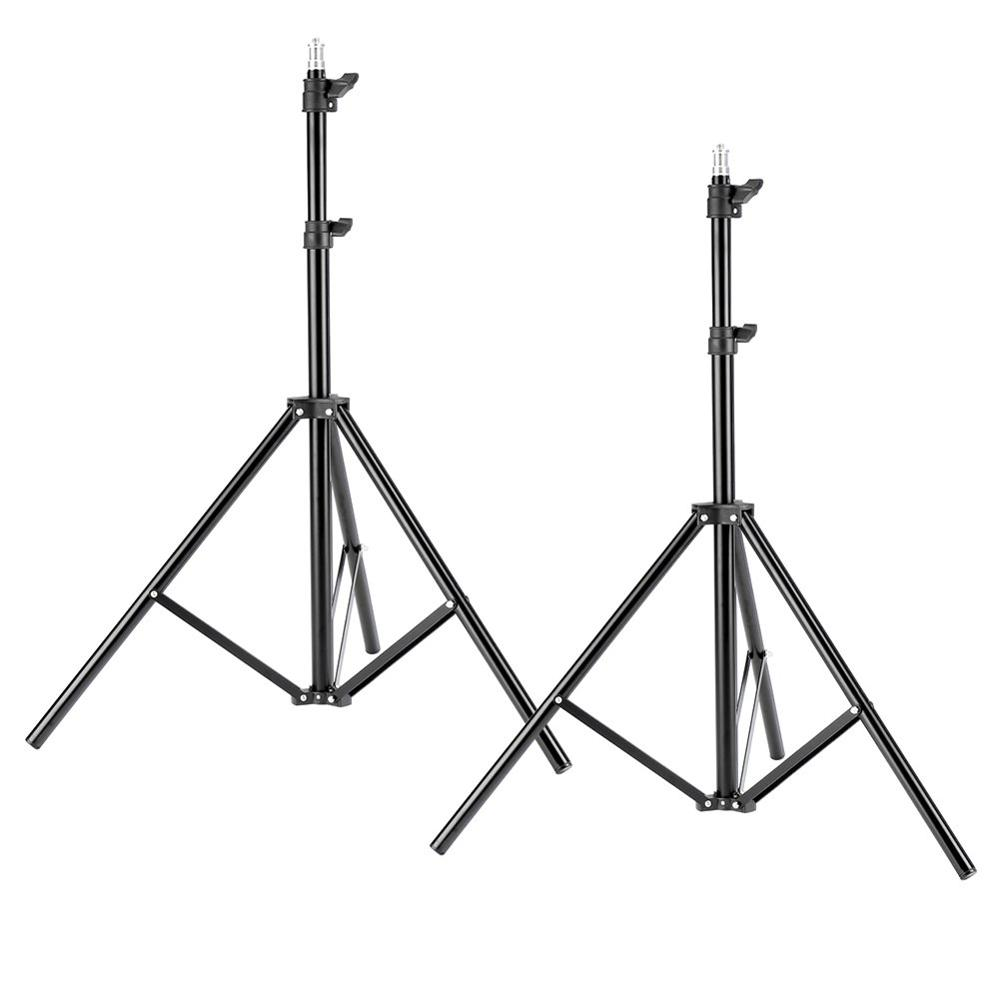 ZUOCHEN 2-Pack Photography Light Stand 79 Inches Heavy Duty Support Stand For Photo Studio Softbox, Umbrella, Strobe Light