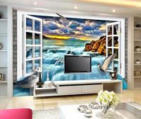 3d-wallpaper-3d-tv-wall-paper-window-of-white-rock-beach-3-d-waterfall-background-wall-wallpaper