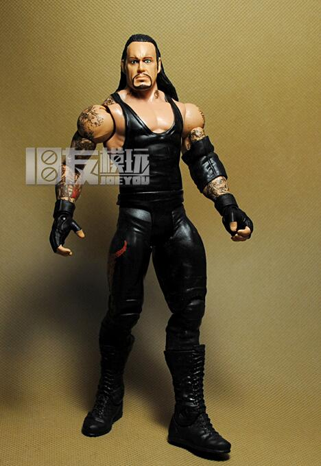 18CM High Classic lucha libre Toy Super Movable American Wrestling undertaker sent clothes and hats action figure Toys