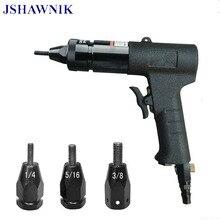 цена на 1/4,5/16,3/8 Pneumatic Riveters Pneumatic Pull Setter Air Rivets Nut Gun Tool Only for Aluminum Rivet Nuts