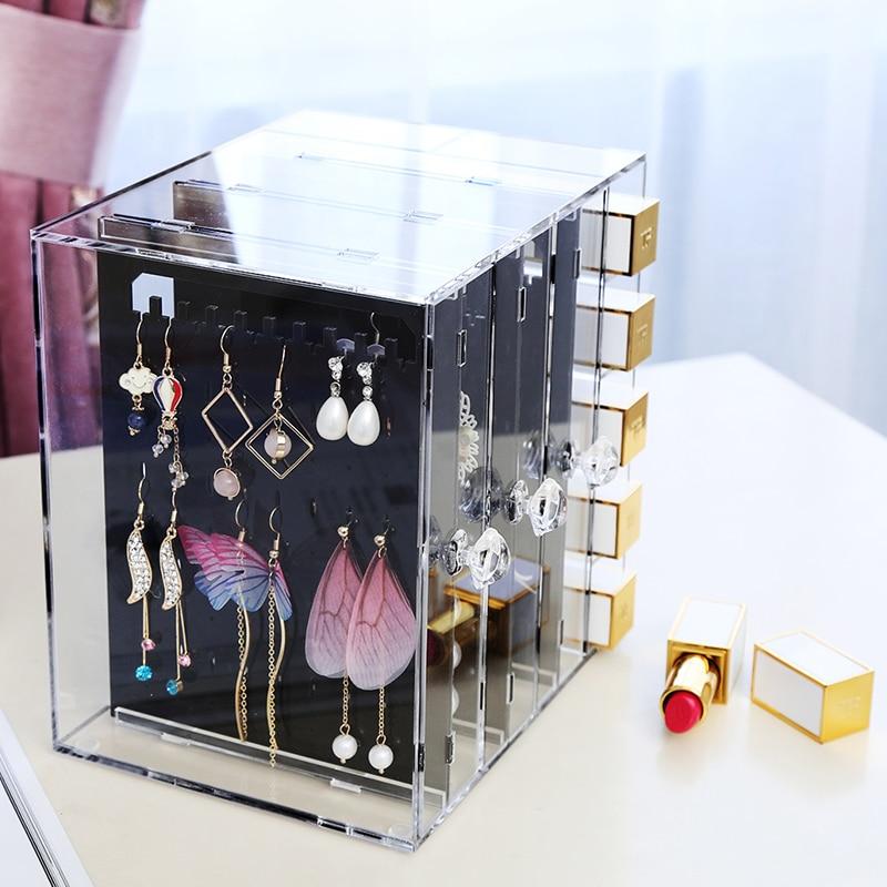 M Acrylic Earring Stand Rack Clear Acrylic Earring Organizer Rack Box C233