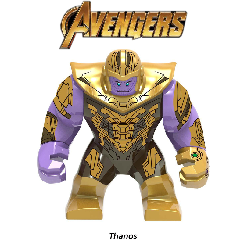 Legoed Avengers 4 Endgame Thanos Infinity Gauntlet Iron Man Spiderman Marvel Building Blocks Action Figures Children Gift Toys image