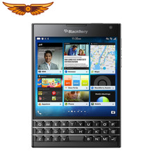 Sbloccato originale Blackberry passport Q30 Quad Core LTE 3GB RAM 32GB ROM 13.0MP BlackBerry OS cellulare spedizione gratuita