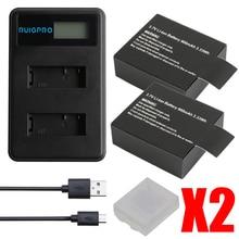 RP Sport Action Camera Battery For EKEN H9 H9R H3R H8PRO H8R pro SJCAM SJ4000 SJ5000 Mini DV Bateria+Dual Charger