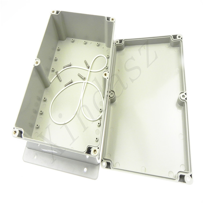 <font><b>230*150*85mm</b></font> Custom box Waterproof Plastic Junction Box Wall Mounted Enclosure Plastic Electronic Project Box With Ear image