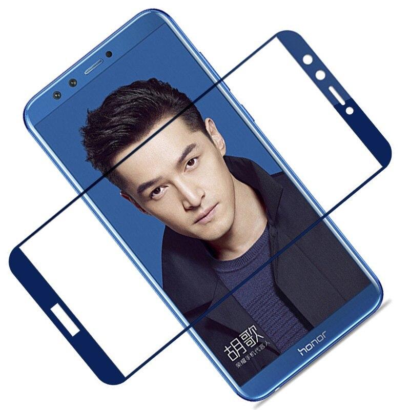 Защитное 3D стекло для Honor 9 Lite защитное покрытие экрана закаленная пленка Huawei