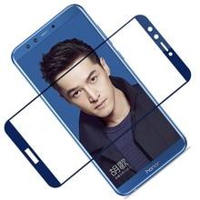 Honor protector de cristal templado para pantalla de móvil, película protectora de seguridad 3D para huawei honor 9 lite 9 lite 9 10 light honor9