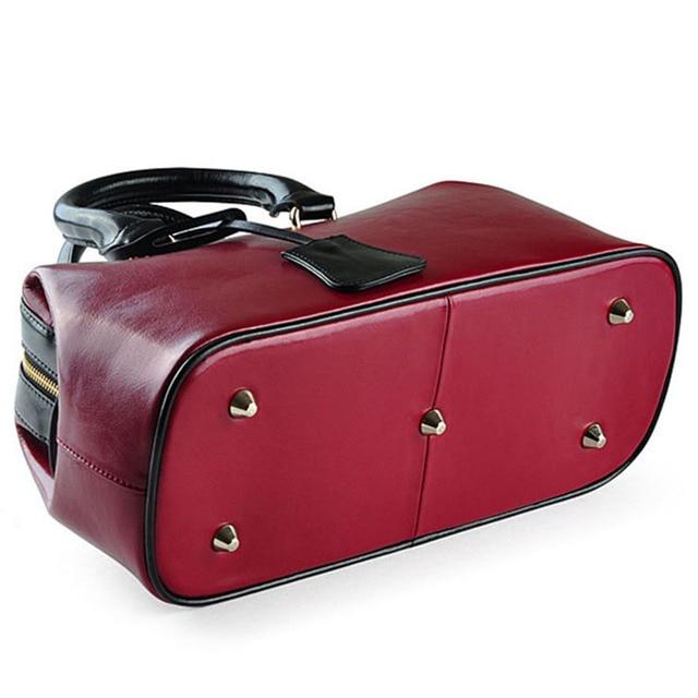 LY.SHARK Luxury Handbag Women Bags Designer Genuine Leather Tote Bag 1