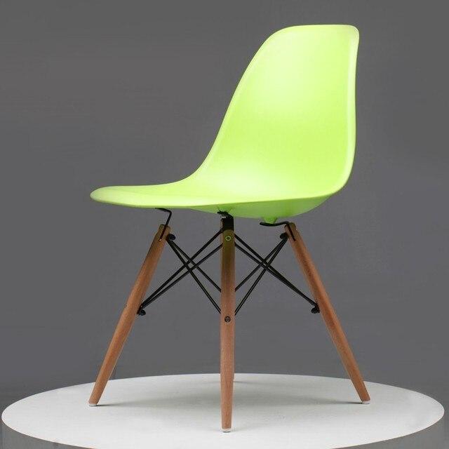 4 pz/lotto) moderno sedie moderne sedie di plastica con hot sedia ...