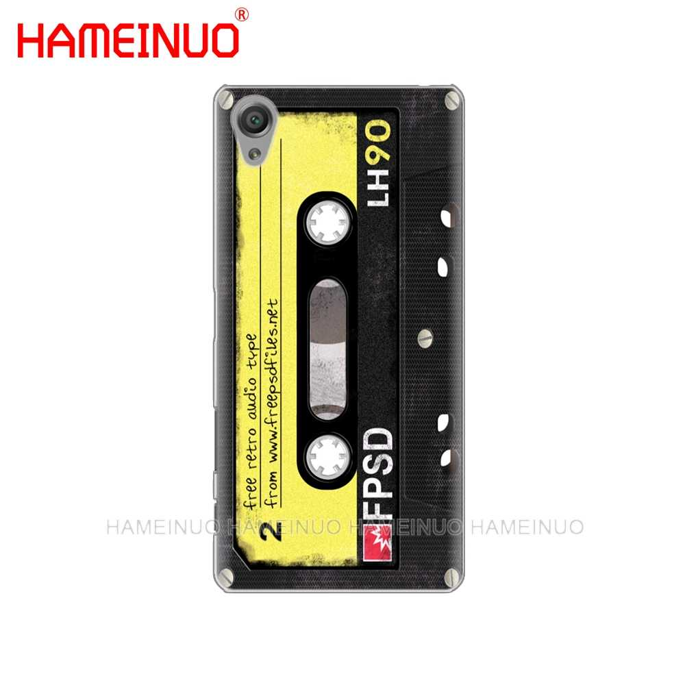 Ретро Камера кассета Бумбокс калькулятор клавиатуры чехол для телефона для sony xperia z2 z3 z4 z5 mini плюс aqua M4 M5 E4 E5 E6 C4 C5