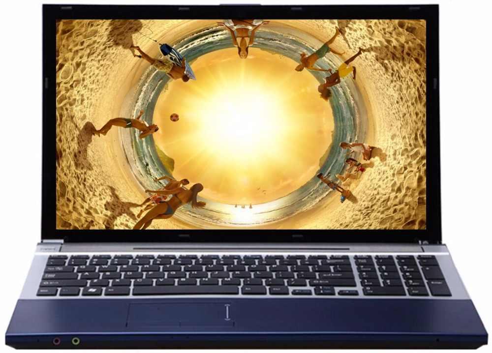 8 gam RAM 240 gam SSD 500 gb HDD 15.6 inch LED HD Intel Core i7 CPU Máy Tính Xách Tay Windows 7/10 máy tính xách tay với DVD-RW Được Xây Dựng Trong WIFI Bluetooth