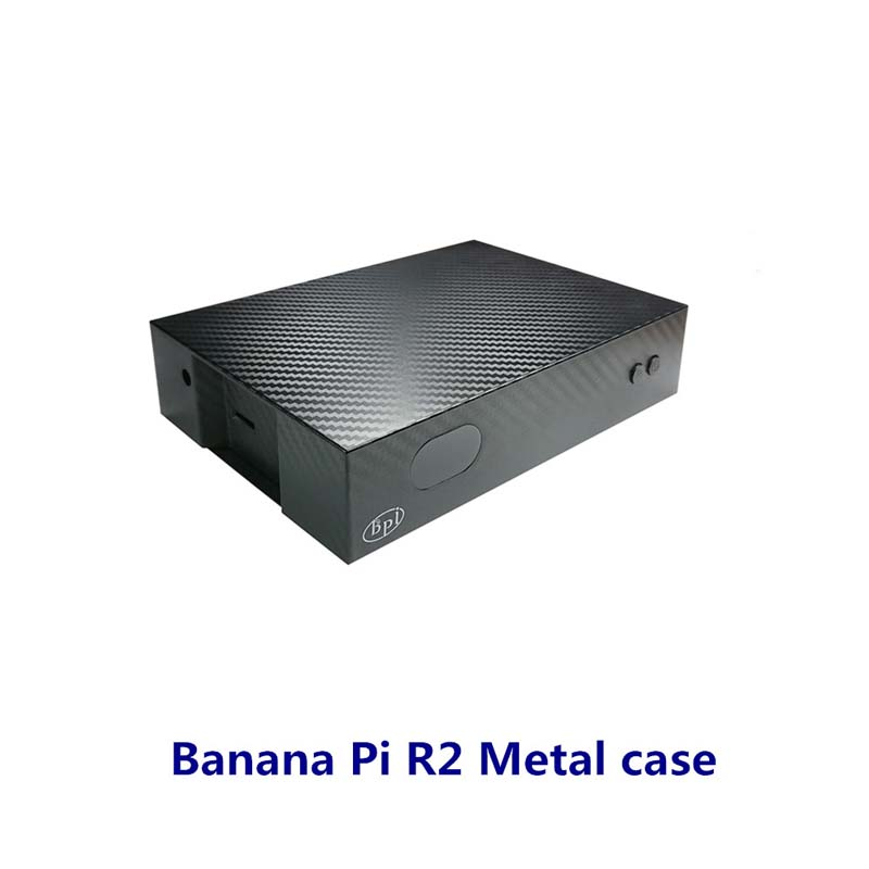 Banana PI R2 Metal Shell For Banana Pi R2/BPI R2