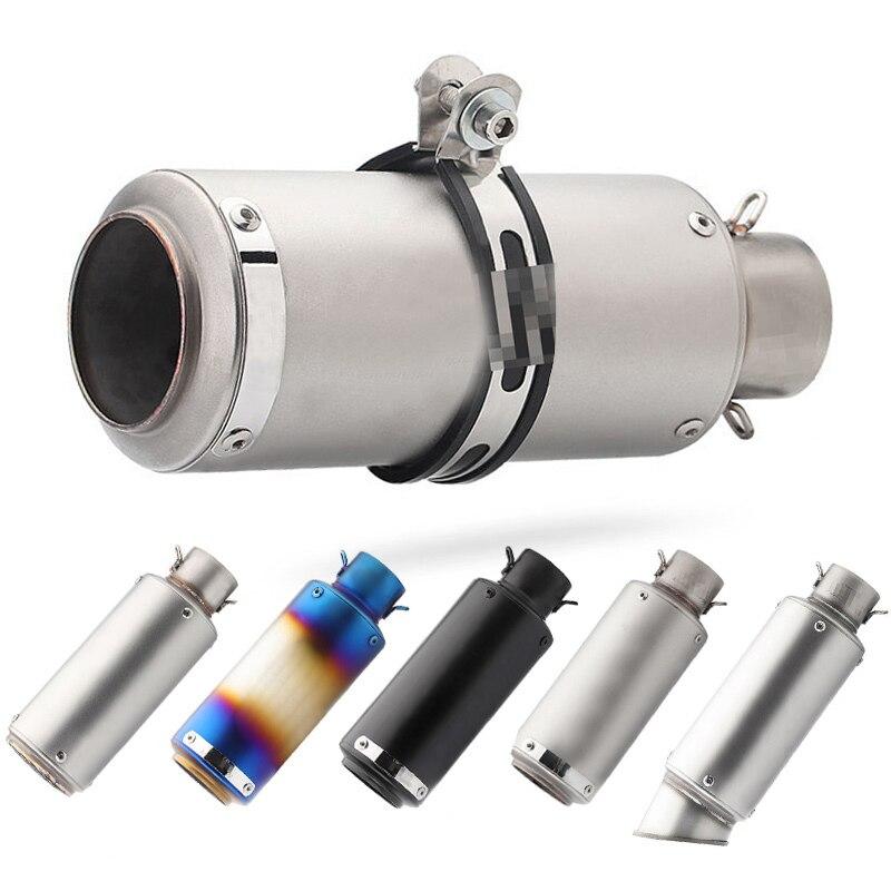 51mm/60mm Silenciador tubo com DB assassino escape moto moto rcycle sc para R6 GSXR1000 R25 MT07 CBR1000 cb650f gsxr250