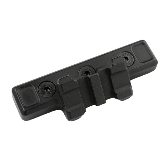 Airsoft Keymod 1913 Offset Adaptive Rail Mount Weapon Light Mount For Attaching SF M300 600