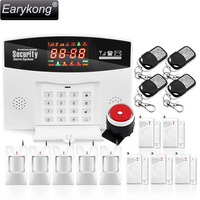 Hot Selling GSM Relay Alarm System 433MHz Wireless You Can Add 99 Wireless Accessories 2 Wired