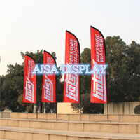 free shipping for 4.5m beach flagpole fabric national flying banner country flag pole and custom flag