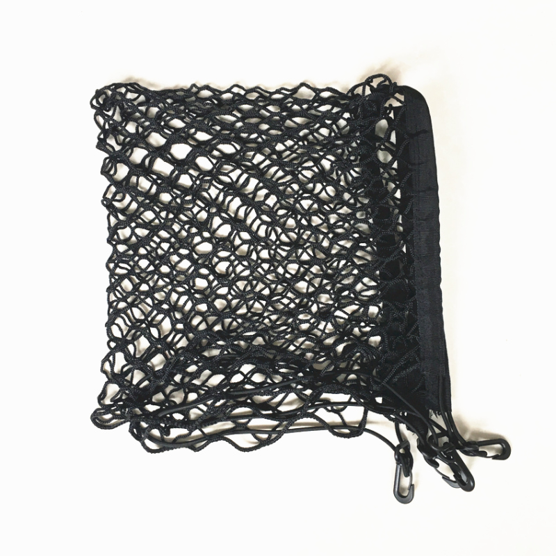HOT SALE 4 HOOK CAR TRUNK CARGO NET LUGGAGE MESH for <font><b>BMW</b></font> X1 X3 X4 X5 X6 E46 E39 E38 E90 E60 E21 E30 <font><b>E23</b></font> F30 F40 Z4 M3 ,70X70 CM image