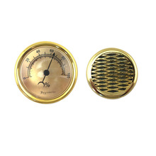2pcs/lot 74MM Metal Hygrometer + 57MM Plastic Moisturizing D