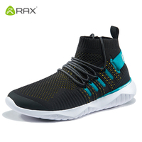 Rax men Outdoor Running Shoes Breathable Sports Sneakers for Women Light Gym Running Shoes Female 2019 New Style Tourism Shoes