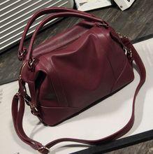 Free shipping New arrival fashion simple design genuine leather women handbag retro shoulder bag Euramerican Pop women bag M182