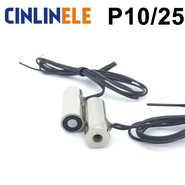 CL-P 10/25 0.4Kg/4N Holding Electric Magnet Lifting  Solenoid Sucker Electromagnet DC 6V 12V 24V Non-standard custom