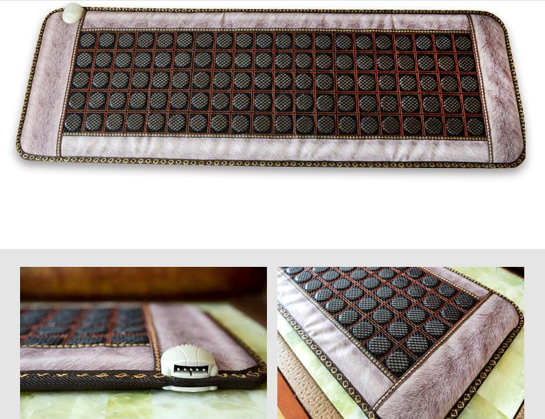 Jade germanium stone heating electrical heating warm and comfortable massage cushion sofa cushion mattress home 2016 electric heating massage jade stone mattress korean mattress wholesaler 1 2x1 9m