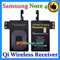 Wireless Charging Receiver For Samsung Galaxy Note 4 N9100 Qi Wireless Charger Adaptor Receiver For Samsung Galaxy Note 4