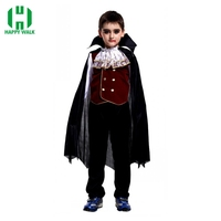 Children Handsome And Cool The Count Vampire Carnival Cosplay Costume Boy Prom Dress Halloween Cosplay Costumes For Kids