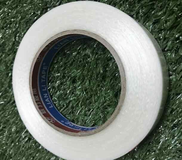 1 шт. 5-15 мм * 50 м прочная Стекловолоконная лента прозрачная полосатая односторонняя клейкая лента бесплатная доставка