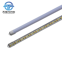 TXG 6pcs*50cm 5630 DC12V 57leds Aluminium shell soft eye protection pc cover led tube lights for home dormitory cabinet