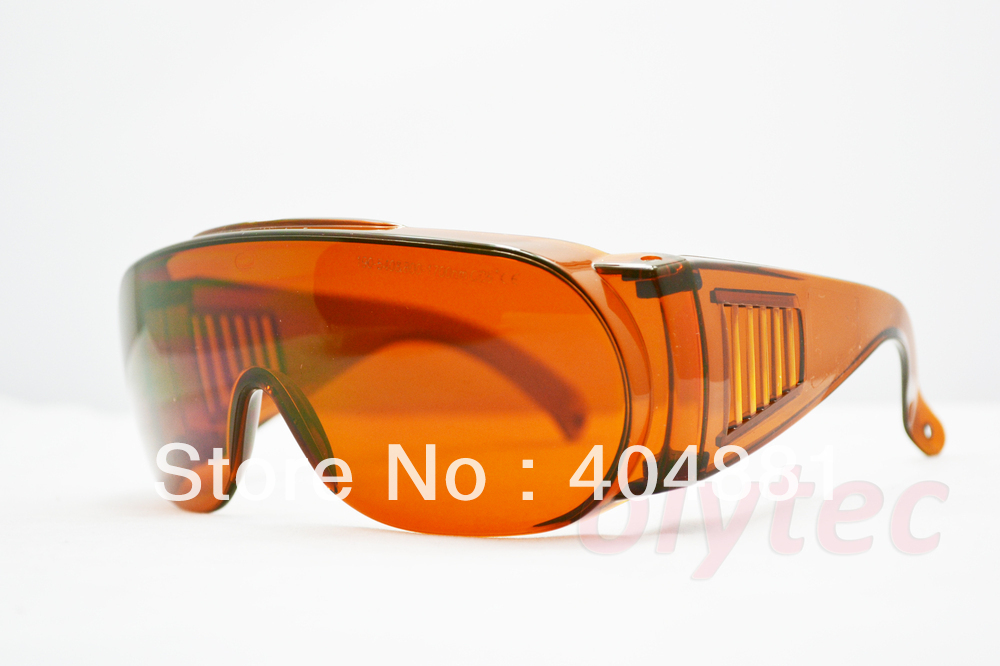 2013 New 190-540nm & 800-1700nm O.D 5+ laser safety glasses,goggle fit over prescription eyewear laser safety glasses 190 540nm