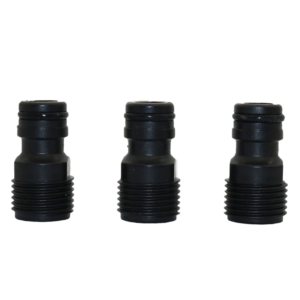 10 pcs 1/2 Male Thread Quick Connectors Joints Car Washing Pipe Fittings Home Garden Homebrew Watering Irrigation Fittings