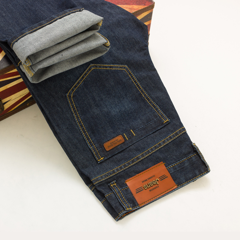 TG6427 Cheap wholesale 2017 new Young men jeans straight waist length in trousers men s young men s jeans wholesale price