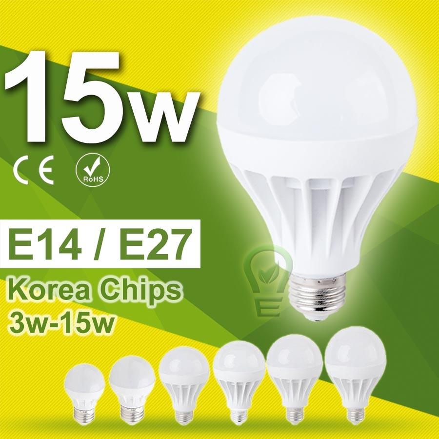 3w~18w Lampada LED E27 LED Lamp E14 LED Bulb E27 15w 12w 9w 7w 5w Light Bulb Ampoule Bombillas LED 220v~240v 10w SMD5730
