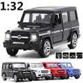 G65 SUV alloy car models 1:32 Sound and light back to power four door, children's toys, gifts, free shipping