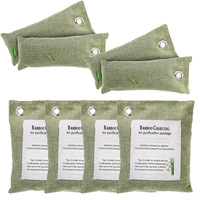 Cleaner Charcoal Bag Bamboo Home Freshener Purify Air Absorber Purifier Cleaning Green Bathrooms Refrigerators