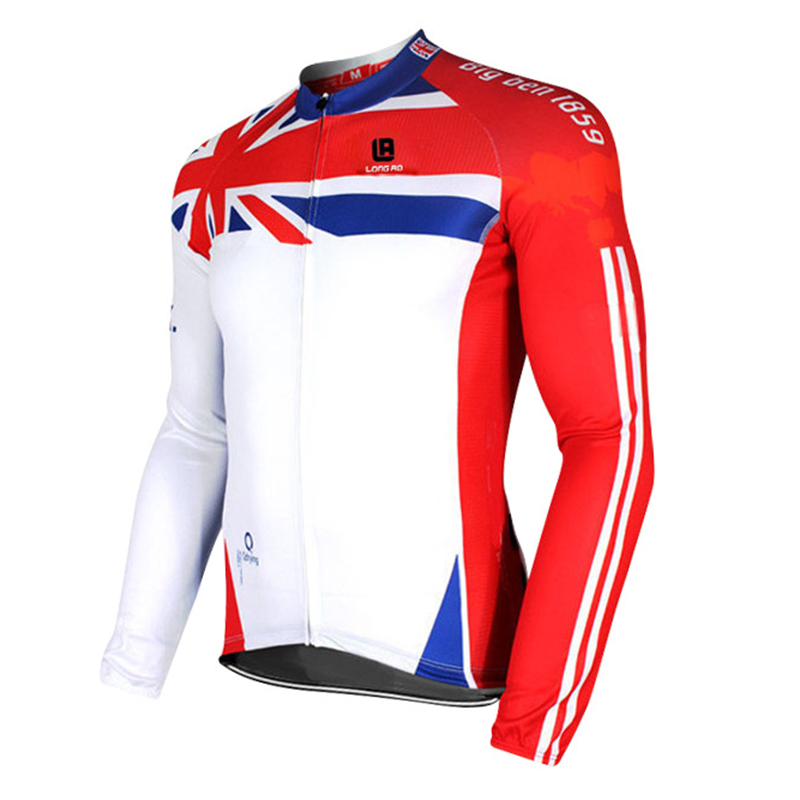 Cycling Jersey Long Sleeve Quick Dry Anti-sweat Autumn Spring Clothing Bicicleta MTB Bicycle Maillot Ropa Ciclismo Hombre LONG11