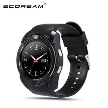 Original reloj deportivo completo partido pantalla smart watch para android ios smartphone apoyo tf tarjeta sim bluetooth smartwatch