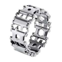 MOOL Творческий 29 дюймов универсальный браслет отвертка-открывашка Открытый выживания Спасательные Инструменты Легкий w