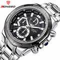 New Men's Watches Quartz Watch Men Top Brand Luxury Full Steel Business Male Sports Wrist Watches Waterproof relogio masculino